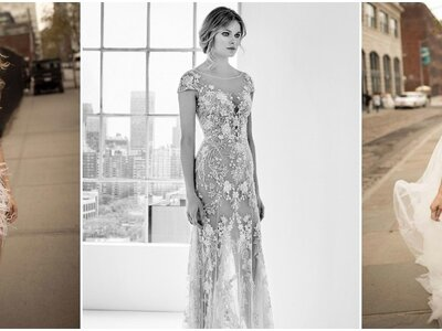 Verführen Sie mit einem dieser sexy Brautkleider – Geniale Stile, Stoffe & Details