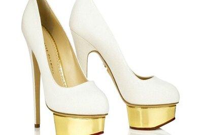 5 zapatos de novia que serán tendencia 2013 en Chile