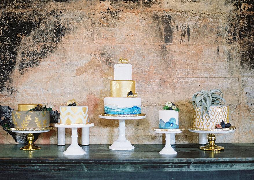 Cómo elegir la tarta de mi boda en 5 pasos