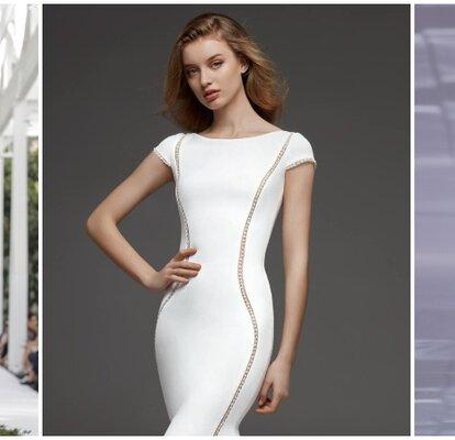 6d18f1af Si eres delgada y te trae de cabeza la elección de tu vestido de novia, no  te pierdas los 40 vestidos de novia para mujeres delgadas que te proponemos.