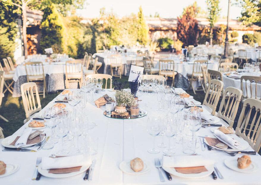El secreto para disfrutar de una boda al aire libre en los aledaños de Toledo