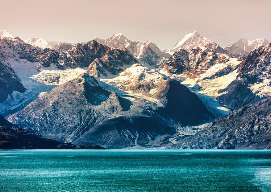 Lua de mel no Alasca: a última surpresa do planeta