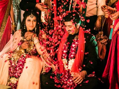 Amazing wedding of Kriti and Pranay: the one that was beautifully done
