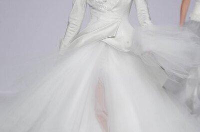 Suknie ślubne 2014: kontrowersyjna kolekcja Jordi Dalmau