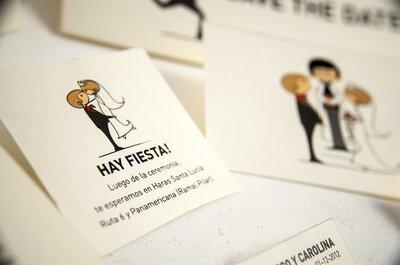 Tendencias originales para invitaciones de boda. Entrevistas a proveedores locales