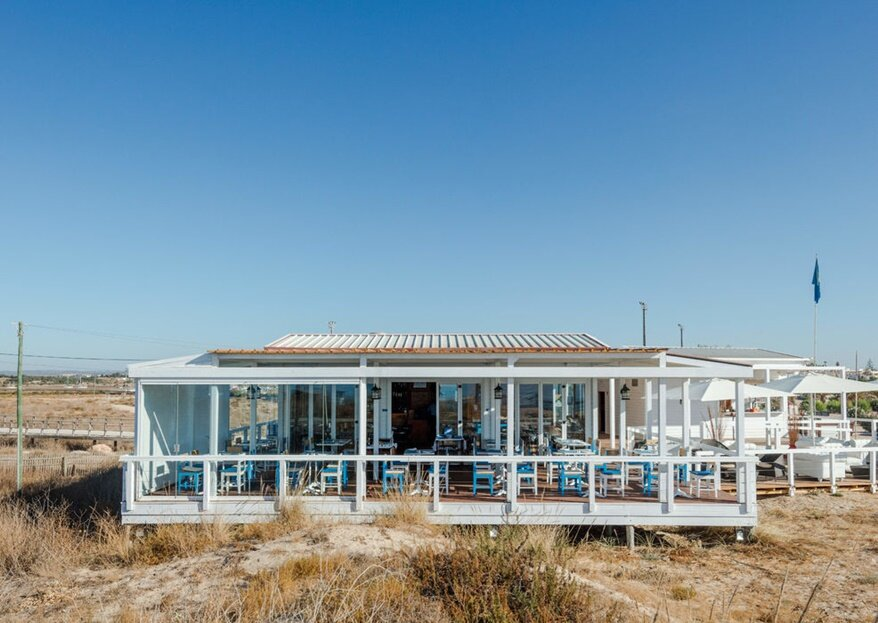 Dunas Beach Restaurant: um casamento à beira mar inesquecível