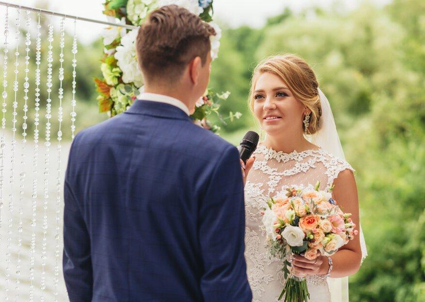 Panik vor dem Ehegelübde oder der Hochzeitsrede? Finden Sie die richtigen Worte mit redenwelt.de!