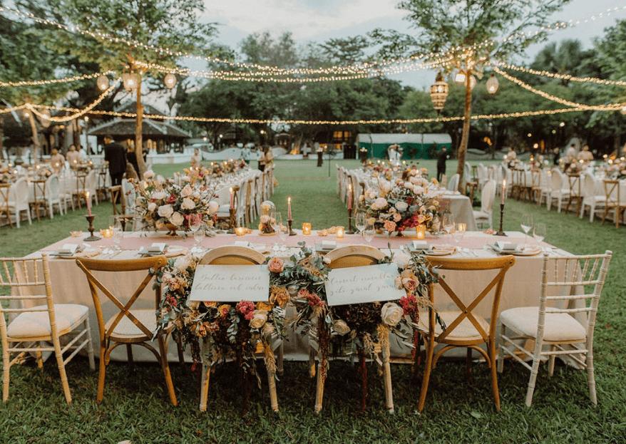 Iluminación vintage en tu boda: 3 pasos para un ambiente cálido y cosy