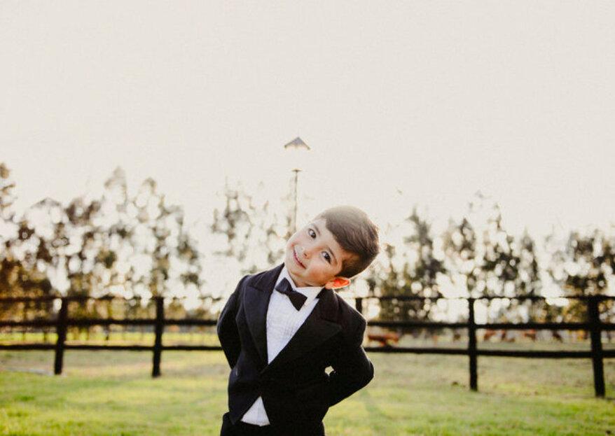 Detalles de boda para niños: 5 ideas para alegrarles el día