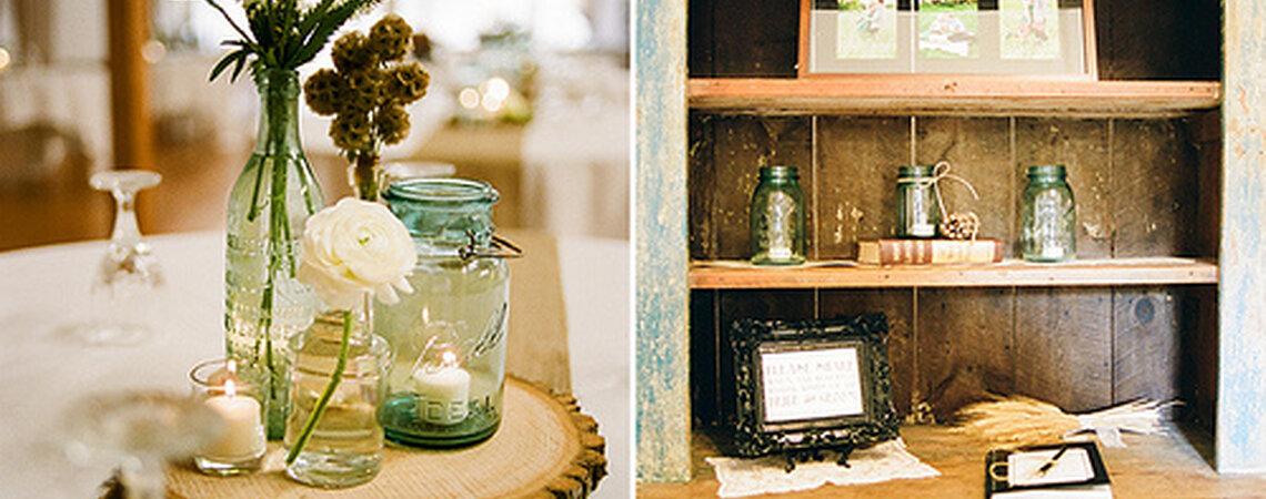 Decorazioni Matrimonio Rustico : Le decorazioni perfette per un matrimonio rustico