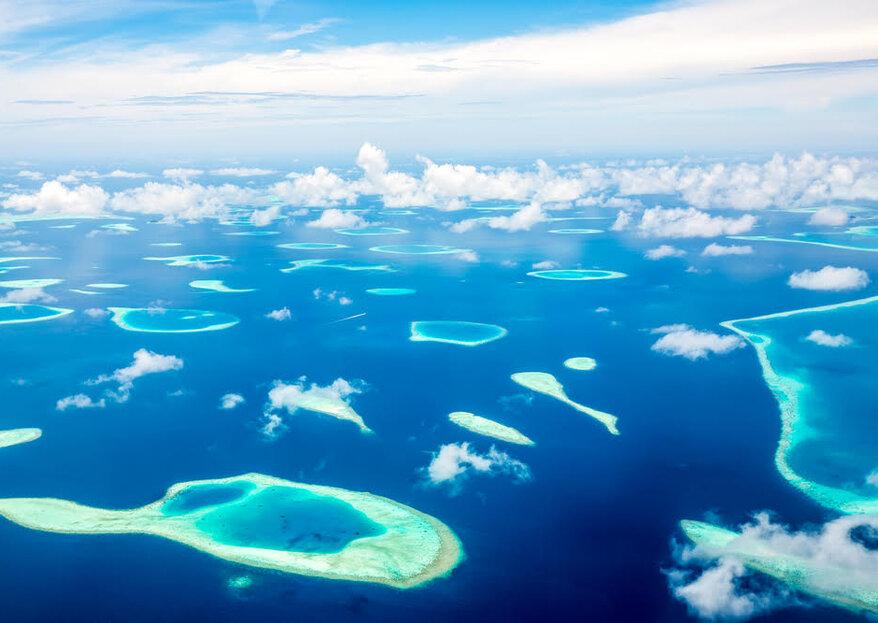 Lune de miel aux Maldives: la destination voyage aux plages paradisiaques !