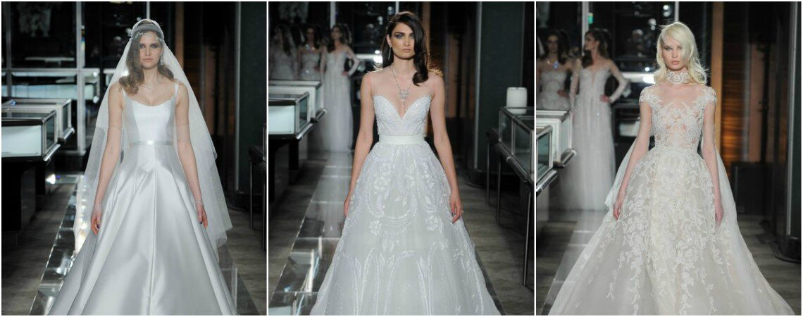 Authentic Looks For Your Big Day From Reem Acra's 2018 Collection