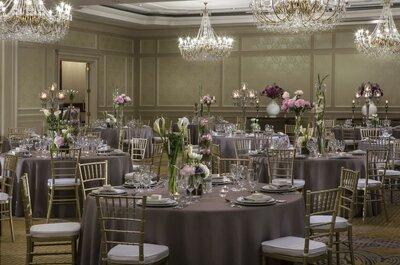 Los 10 mejores hoteles para matrimonio en Santiago. ¡Celebra con lujo en plena ciudad!