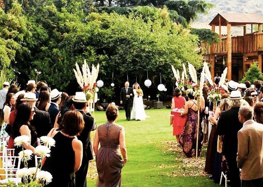 KO Eventos Cajón del Maipo: el lugar ideal para celebrar tu matrimonio
