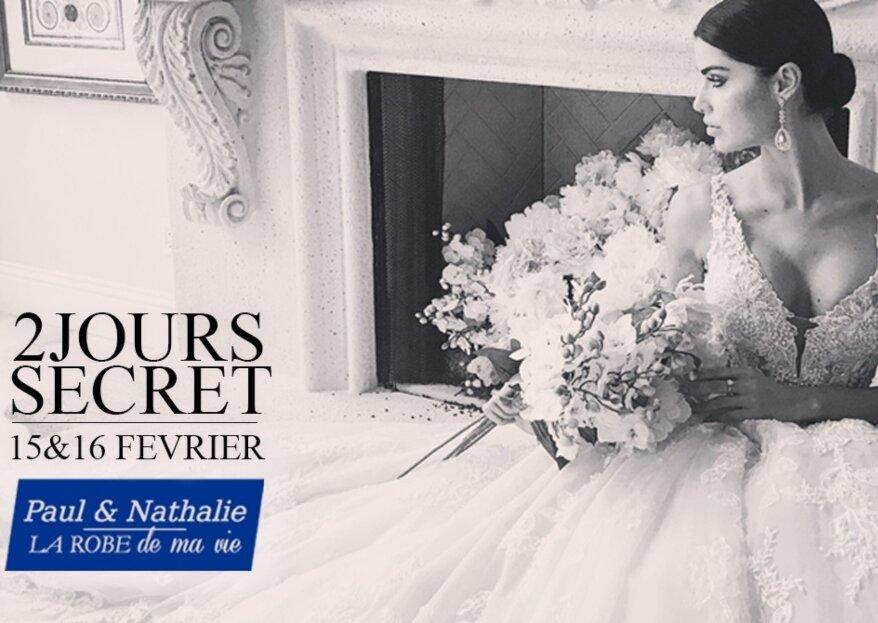 15 et 16 février 2020 : essayage VIP des plus grandes marques de robes de mariée - un événement signé Confidence Mariage