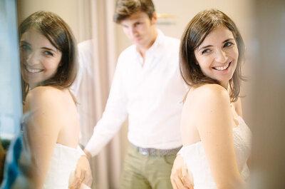 Passo a passo: as seis coisas que tem de fazer antes de vestir o seu vestido de noiva!