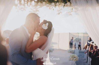 Guarda che luna, guarda che mare: il matrimonio in Sardegna di Andrèa e Sébastien