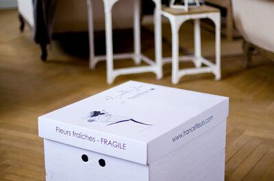 Concours Myweddingbox et Zankyou, une superbe idée de chez France Fleurs à gagner!!