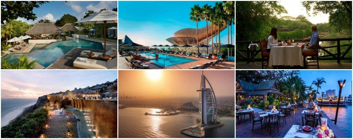 Los 10 mejores hoteles del mundo para pasar tu luna de miel, ¡o unas merecidas vacaciones!