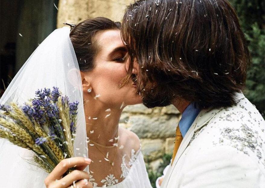 Charlotte Casiraghi e Dimitri Rassam casam pela Igreja