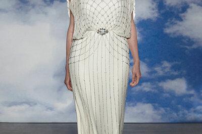 Vestidos de novia 2015 con cinturón: Marca tu estilo y luce impactante en tu boda