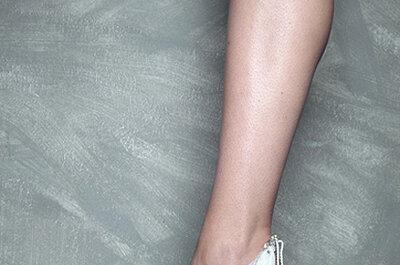 Los impresionantes zapatos de novia de Vicente Rey 2013