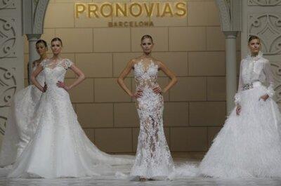 Pronovias celebra sus 50 años en la Barcelona Bridal Week