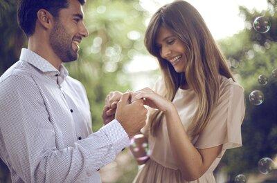 ¿Vas a pedirle matrimonio a tu pareja? Todo lo que necesitas saber sobre el anillo de compromiso