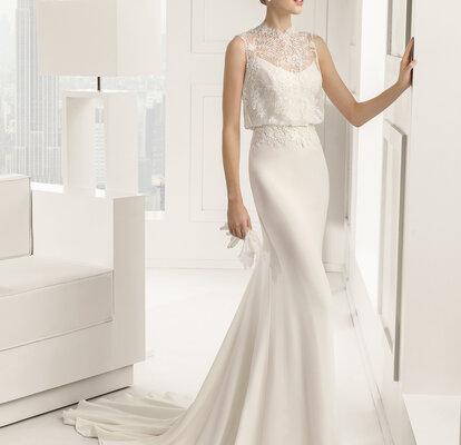 Reino Unido guapo patrones de moda Vestidos de novia para bajita: Puedes parecer más alta