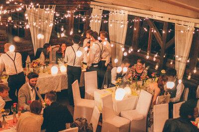8 Ideen für eine unvergessliche Beleuchtung während des Hochzeitsfestes! So lassen Sie Ihre Liebe strahlen