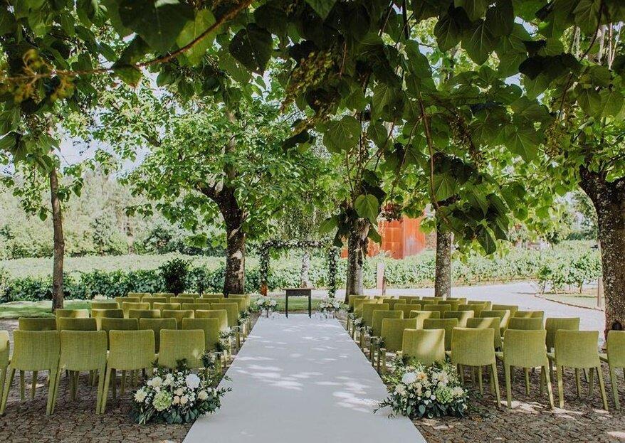 Os espaços mais charmosos para um casamento inesquecível!
