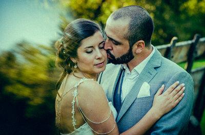 La boda original de Gabriela y Francisco con buen rock y puro romanticismo