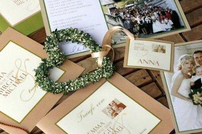 Hochzeitseinladungen – Lassen Sie Ihre Einladungskarten nach Ihren Wünschen gestalten