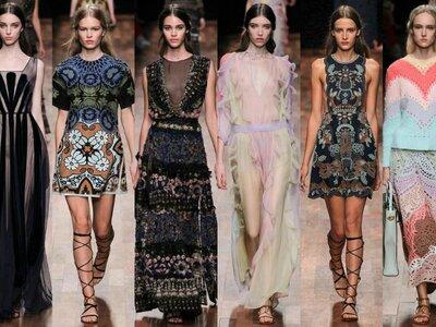 Valentino arrasa na semana de moda de Paris 2015: vestidos de festa para mulheres sofisticadas