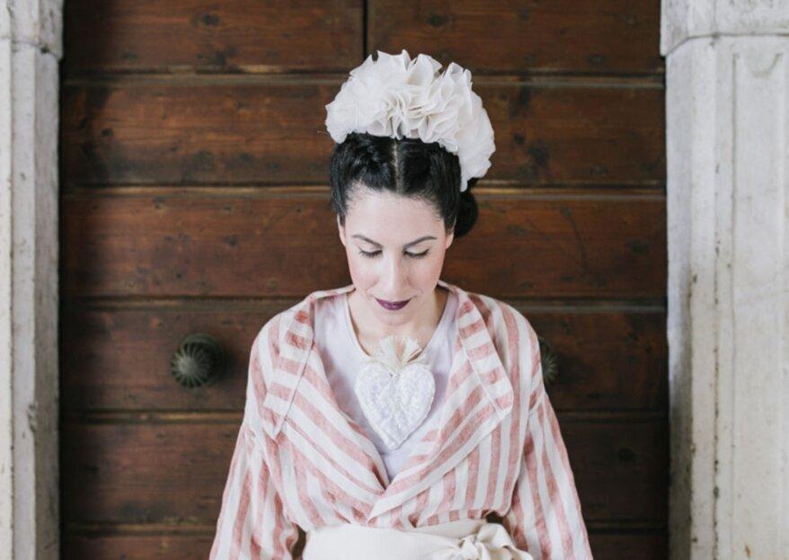 La Nico delle Meraviglie: gli accessori artigianali ed unici da indossare durante il matrimonio