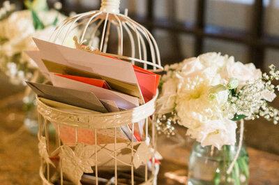 Las 10 formas más originales para recolectar mensajes de los invitados en tu boda: ¡Que no se te escape nadie!