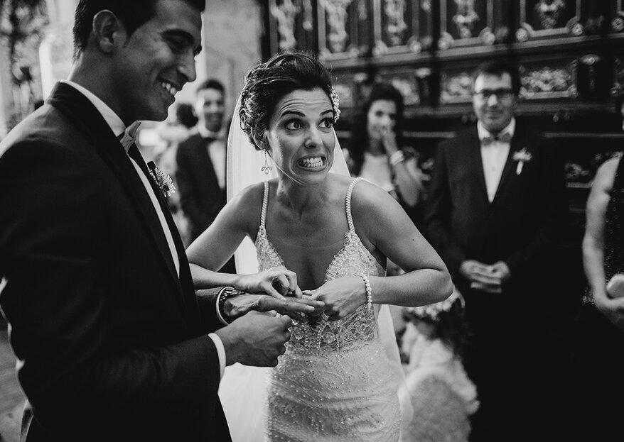 9 em cada 10 casais cometem estes erros na organização do casamento: venham conhecê-los!