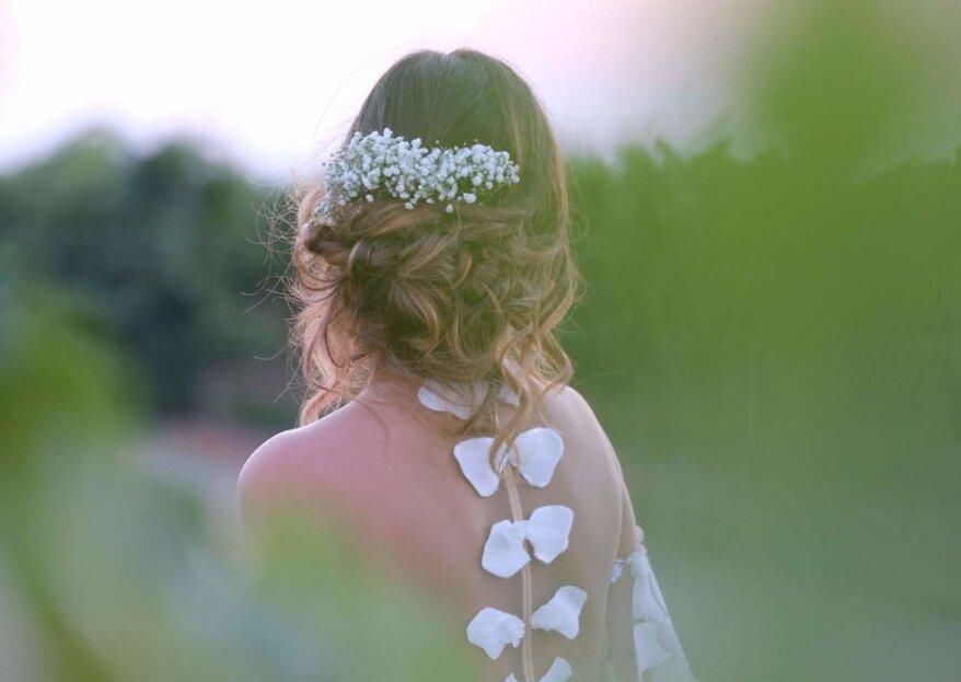 Michela Roberti Spose saprà mettere in risalto la vostra bellezza naturale studiando il look perfetto per voi!