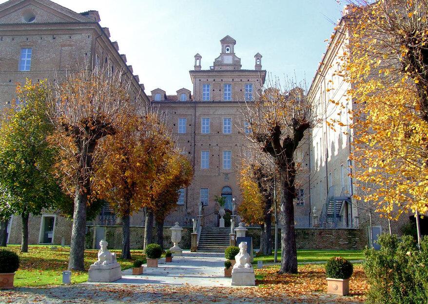 Castello di Montaldo, una tenuta d'altri tempi per un matrimonio indimenticabile