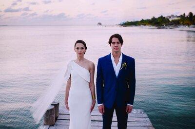La belleza más allá del factor WOW: No puedes perderte la boda de Jordana y Billy