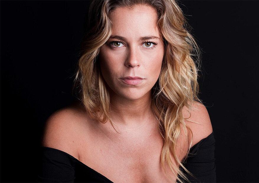 A atriz Inês Aires Pereira está grávida e revela o sexo do bebé
