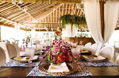 Mesa dos convidados de casamento muito além do centro de mesa: detalhes únicos e originais!