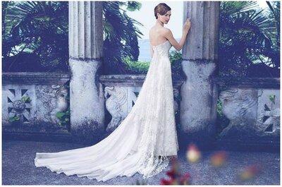 Dal cartamodello alla scultura in seta: il percorso incantato della collezione Primavera/Estate 2014 di abiti da sposa Giuseppe Papini