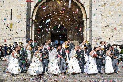 Casamentos de Santo António 2012: hoje Lisboa é a cidade do amor