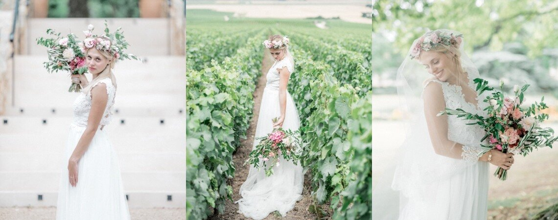 Inspiration mariage champêtre au Manoir de Verzy