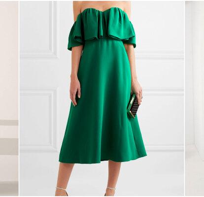 f3ca04190 Más de 30 vestidos de fiesta verdes. ¡Imperdibles diseños para invitadas  que te encantarán!