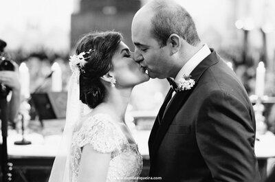 Casamento clássico de Gabi & Márcio: uma história linda, com direito à fada madrinha e muitas surpresas!