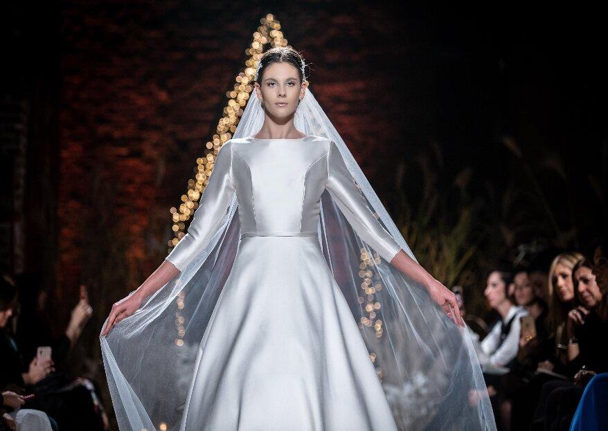 L'incantevole collezione moda sposa di Chiara Vitale Atelier Kore, per sognare in un tempo sospeso