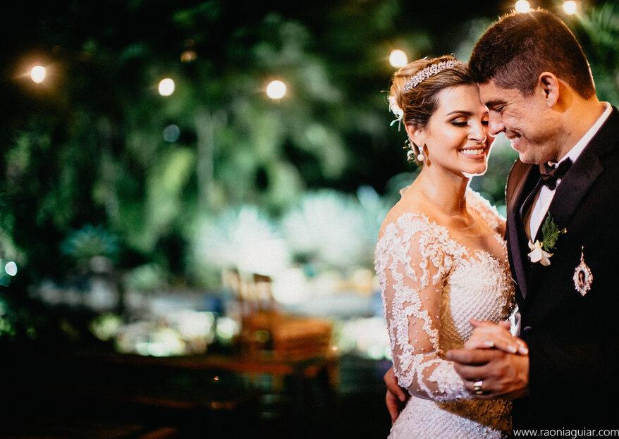 Amanda & Filipe: Casamento com decoração rústico-chique e muito romantismo no Salão Vale dos Sonhos, no Rio de Janeiro