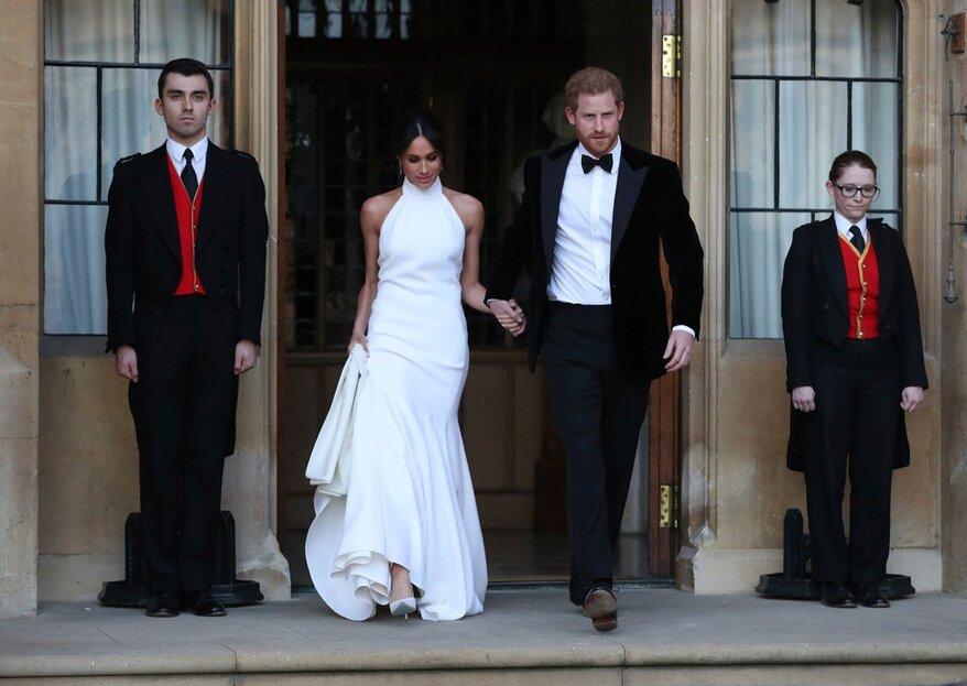 Meghan Markle y sus dos vestidos de novia, la elegancia del minimalismo